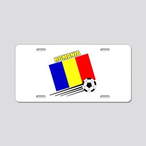 Romanian Soccer Team Aluminum License Plate